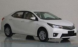 หลุดคันจริง Toyota Corolla 1.2T เวอร์ชั่นเทอร์โบก่อนเปิดตัว