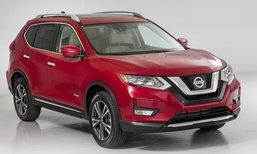 2017 Nissan X-Trail ไมเนอร์เชนจ์ใหม่เผยโฉมแล้วที่สหรัฐฯ