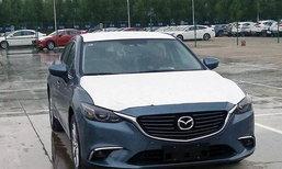 หลุด Mazda6/Atenza โฉมไมเนอร์เชนจ์ใหม่ที่จีน ปรับหรูยิ่งขึ้น