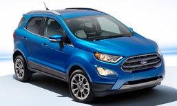 2018 Ford EcoSport ไมเนอร์เชนจ์ใหม่เผยโฉมแล้วที่สหรัฐฯ