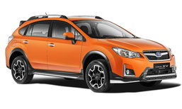 ราคารถใหม่ Subaru ในตลาดรถยนต์เดือนพฤศจิกายน 2559