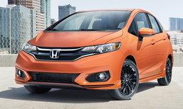 Honda Fit 2018 ไมเนอร์เชนจ์ในสหรัฐฯ เพิ่มระบบ Honda Sensing