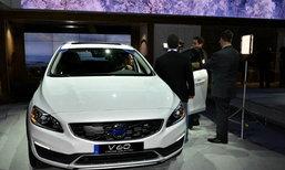 Volvo V60 Cross Country แวกอนขาลุยเปิดตัวเป็นครั้งแรกของโลกที่สหรัฐฯ