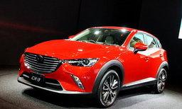 Mazda CX-3 ใหม่ เปิดตัวเป็นครั้งแรกที่ญี่ปุ่นในงาน Tokyo Auto Salon 2015