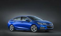 Chevrolet Cruze 2016 เจเนอเรชั่นใหม่เผยโฉมแล้ว