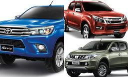 5 อันดับรถกระบะปลอดภัยที่สุด 'Triton' นำเป็นอันดับ 1 ส่วน 'Revo' รั้งอันดับ 2