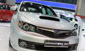 รถยนต์ Motor show 2010 -SUBARU