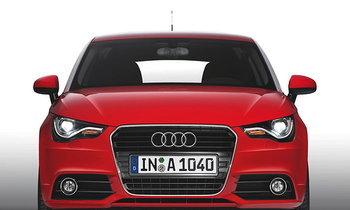 ์ืNew Audi A1 รถยนต์ subcompact แนวสปอร์ต