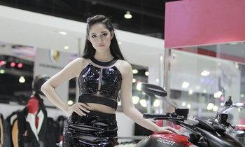 พริตตี้ DUCATI - Motor Show 2014