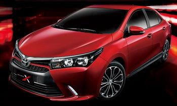 Toyota Corolla Altis X รุ่นพิเศษ พร้อมหน้าใหม่โหดกว่าเดิม