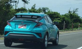 หลุด Toyota C-HR ใหม่ ออกวิ่งทดสอบจริงที่ญี่ปุ่น