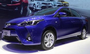 Toyota Yaris L Sedan ใหม่ เผยโฉมที่กวางโจวมอเตอร์โชว์ 2016