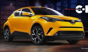 Toyota C-HR เตรียมเปิดตัวที่ออสเตรเลียต้นปี 2017 นี้