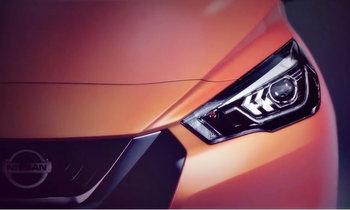 2017 Nissan March โฉมใหม่ เผยทีเซอร์ก่อนเปิดตัวครั้งแรกที่ฝรั่งเศส