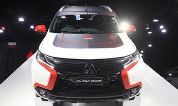 รถใหม่ Mitsubishi - Motorshow 2017