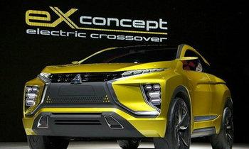 Mitsubishi eX Concept ครอสโอเวอร์ไฟฟ้ารุ่นล่าสุดที่งานโตเกียวมอเตอร์โชว์ 2015