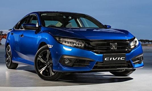 Honda Civic ใหม่ เปิดตัวที่นิวซีแลนด์พร้อม Honda SENSING