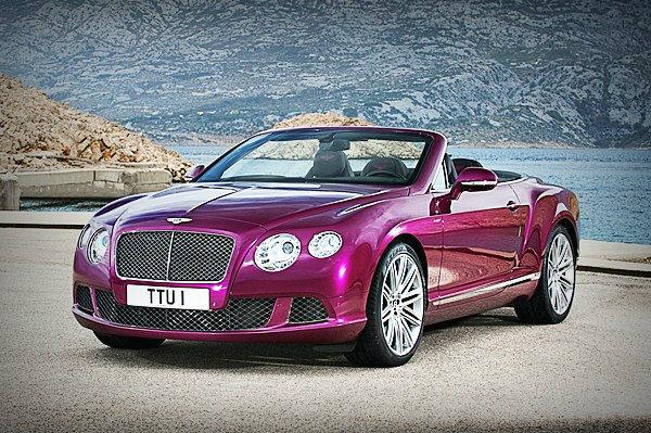 Bentley Continental GT Speed Convertible  เปิดประทุนตัวแรง รับลมหนาวต้นปี
