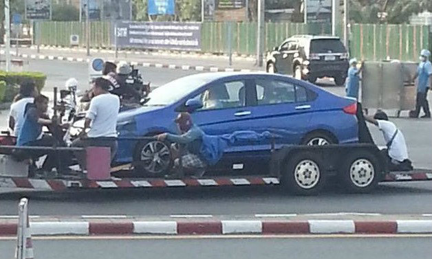 รูปหลุด! All-new Honda City 2014 ในไทย