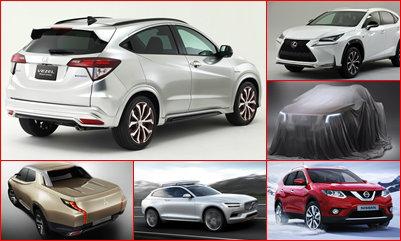 เปิดโผ 10 รถยนต์รุ่นใหม่ปี 2015
