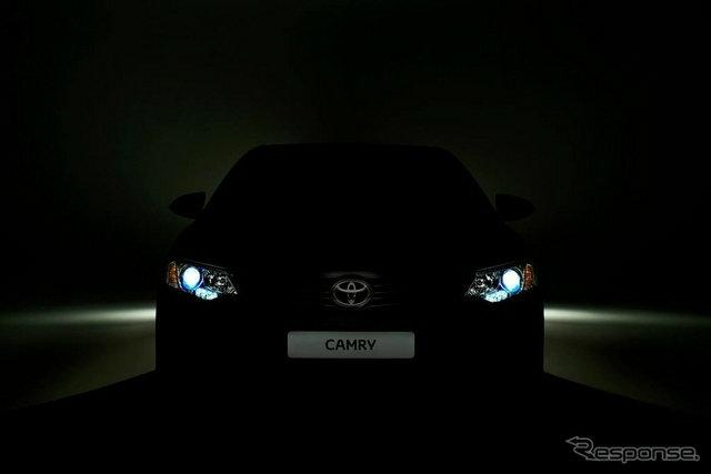 ปล่อยทีเซอร์ 'Toyota Camry' ใหม่ โฉมใหม่