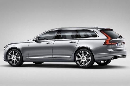 หลุด Volvo V90 ของจริงก่อนเปิดตัวครั้งแรก 18 ก.พ.นี้