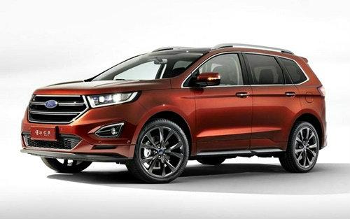 'Ford Edge 2015' เอสยูวี 7 ที่นั่งถูกเปิดตัวในสหรัฐฯ