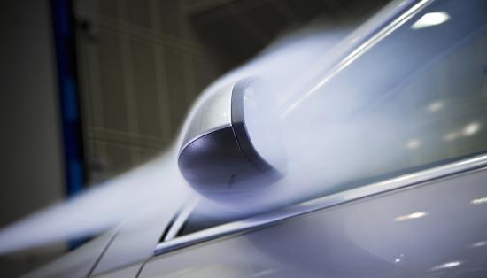 หลักอากาศพลศาสตร์ เพิ่มการประหยัดน้ำมันและความเงียบในห้องโดยสาร