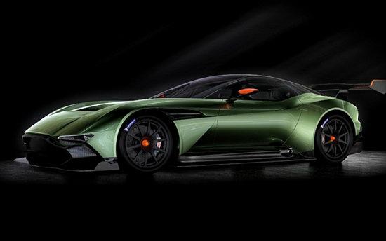 Aston Martin Vulcan เผยโฉมแล้ว เตรียมเปิดตัวเจนีวามอเตอร์โชว์ 2015
