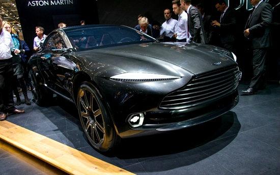Aston Martin DBX Concept เผยโฉมที่งาน Geneva Motor Show 2015