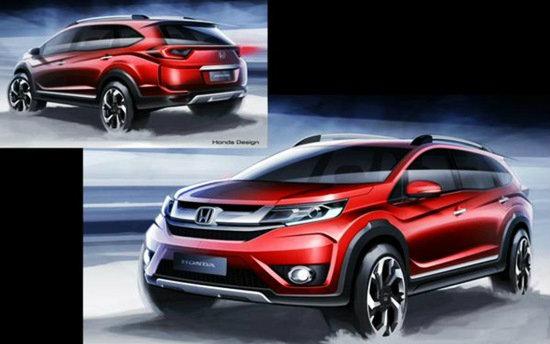 เตรียมเปิดตัว 'Honda BR-V' ครอสโอเวอร์พื้นฐาน 'Brio' ใหม่ล่าสุด