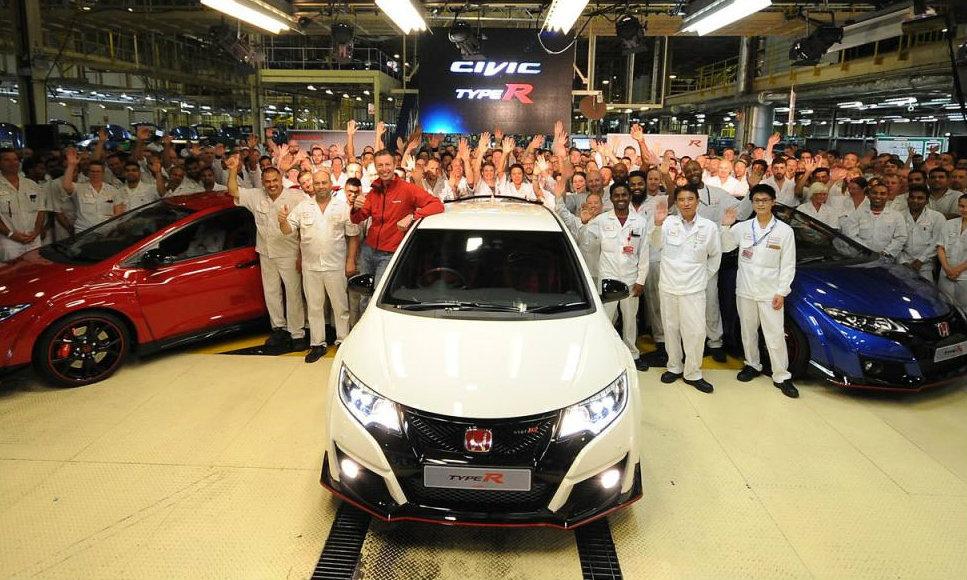 Honda Civic Type R ใหม่ เริ่มเดินสายการผลิตที่อังกฤษแล้ว
