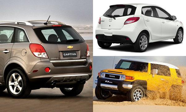 ไปดู 10 อันดับยอดขายรถยนต์ตกฮวบมากที่สุดในสหรัฐฯ ปี 2015