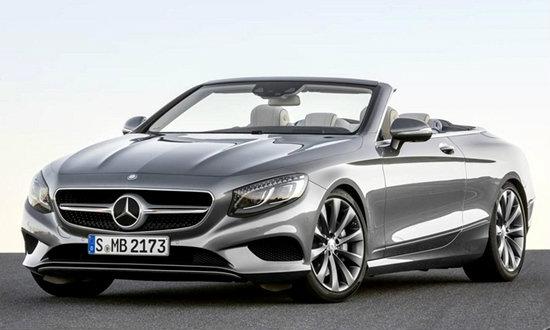 Mercedes-Benz S-Class Cabriolet เผยโฉมก่อนเปิดตัวที่กรุงแฟรงค์เฟิร์ต 15 ก.ย.นี้