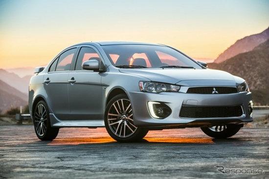 Mitsubishi Lancer 2016 ไมเนอร์เชนจ์ใหม่ เปิดตัวแล้วที่สหรัฐฯ
