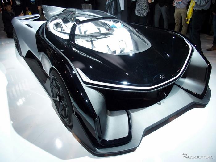 Faraday Future เผยรถแข่งพลังงานไฟฟ้าดีไซน์สุดเท่ในงาน CES 2016