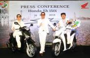 Honda  ส่ง Honda Sh150i ลงตลาด เปิดราคาแสนบาททอน 200