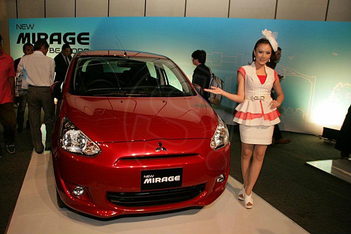 Mitsubishi mirage สุดเจ๋งโชว์ 22ก.ม./ลิตร ในอีโค่คาร์
