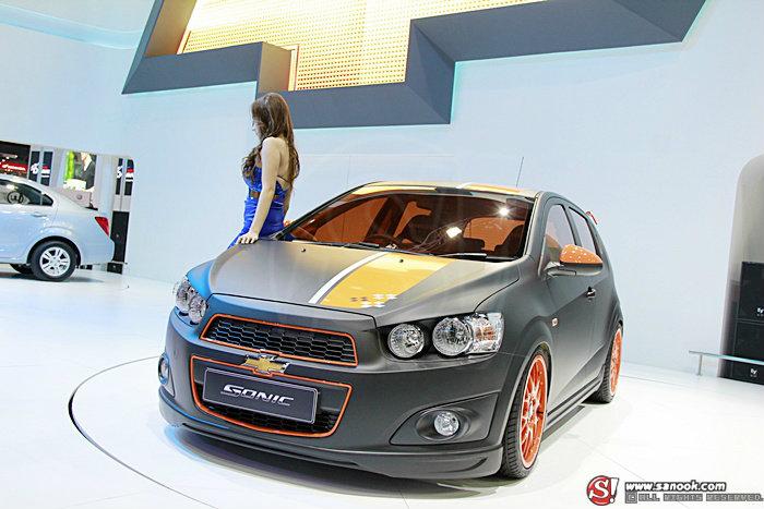 พาชม Chevrolet Sonic ว่าที่หน้าใหม่ตลาดซิตี้คาร์