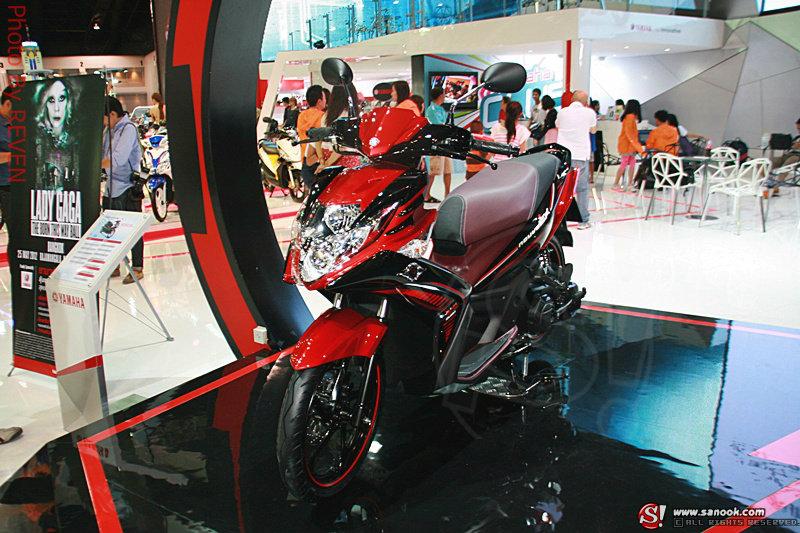 Sanook! MotoBike : Yamaha Nouvo SX สวยเท่ห์ล้ำสไตล์
