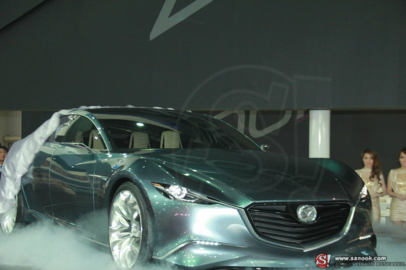 Mazda Shinari  อีกต้นแบบคันงามจากงาน Motor Expo 2012