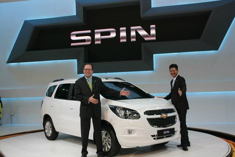 Chevrolet Spin ว่าที่ อเนกประสงค์น้องใหม่ พร้อมขายปีหน้า