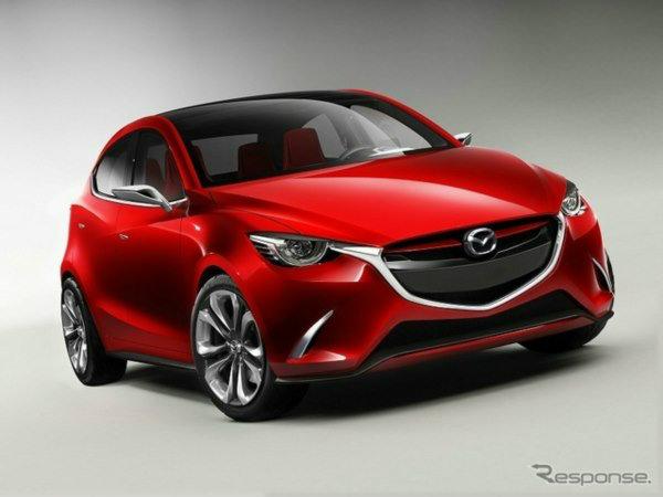 """Mazda 2 2015"" ใหม่เผยโฉมในคราบคอนเซ็พท์ ""Hazumi"""