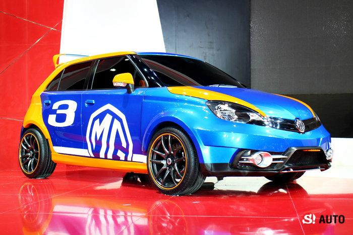 รถค่าย MG มอเตอร์เอ็กซ์โป 2014