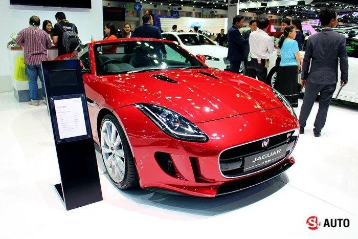 รถ Jaguar ในงาน Motor Expo 2014