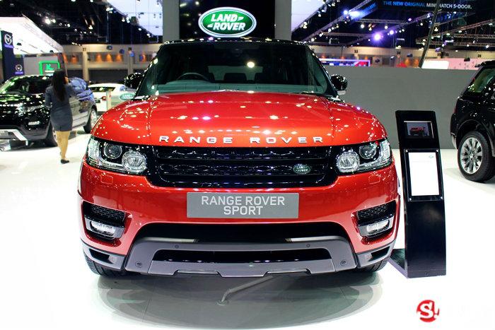รถ Land Rover ในงาน Motor Expo 2014