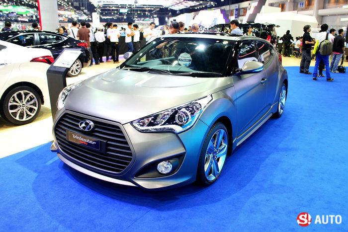 รถ Hyundai ในงาน Motor Expo 2014