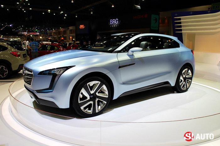 รถ Subaru ในงาน Motor Expo 2014