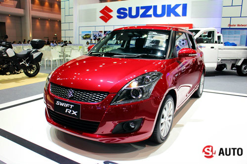 Suzuki Swift RX ใหม่ เคาะราคา 5.99 แสนในงาน Motor Expo 2014