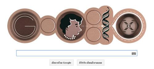 โรซาลินด์ แฟรงคลิน(Rosalind Franklin) นักเคมีและผลึกวิทยาผู้มีบทบาทสำคัญในการค้นพบดีเอ็นเอ